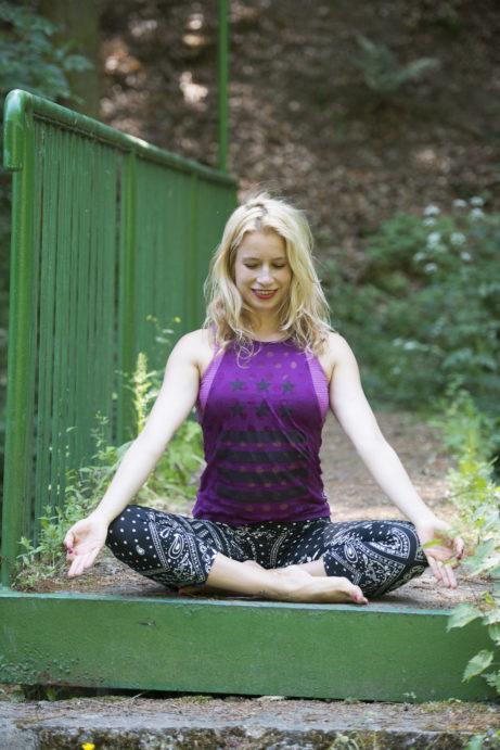 jóga a štěstí