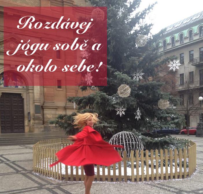 jóga a meditace o vánocích