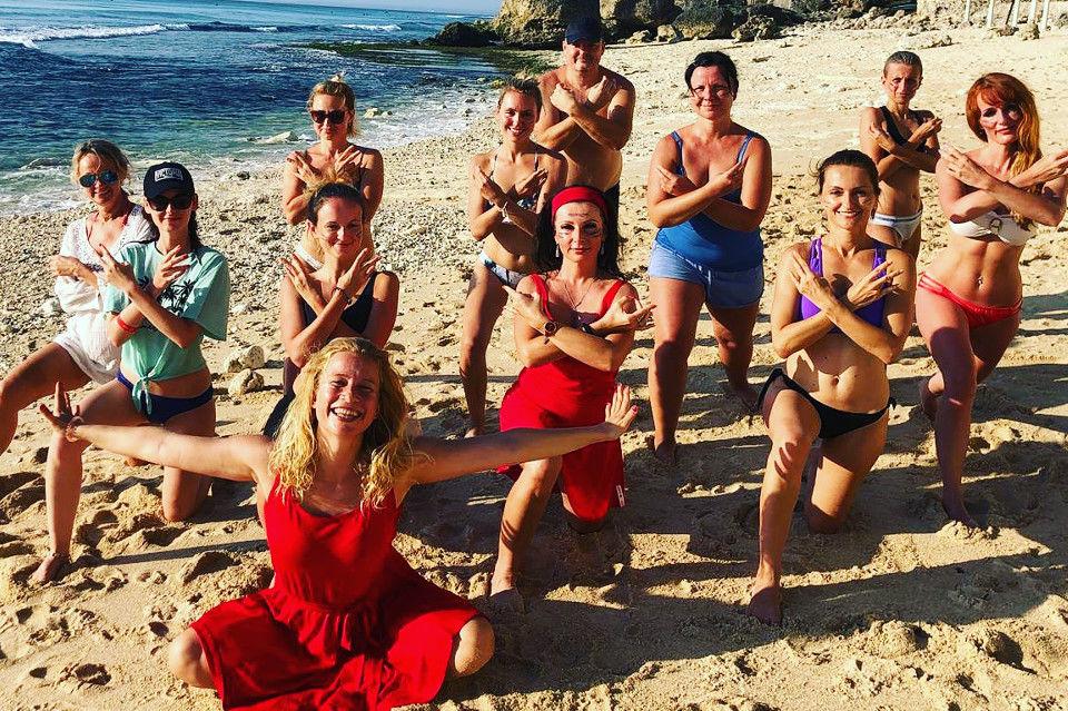 Jóga, dech a meditace na Bali