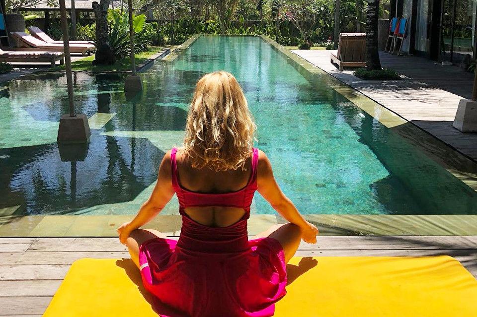 Jóga, dech, meditace nakouzelném ostrově
