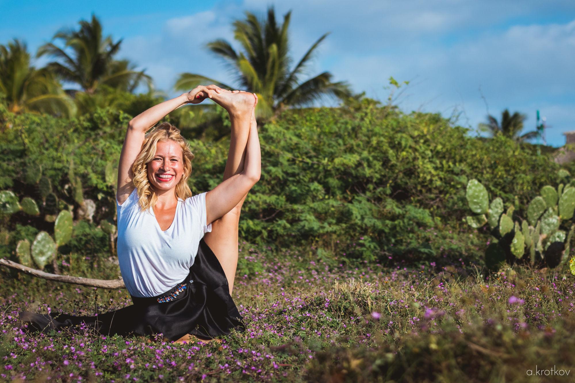 Pružnost těla, jóga a meditace
