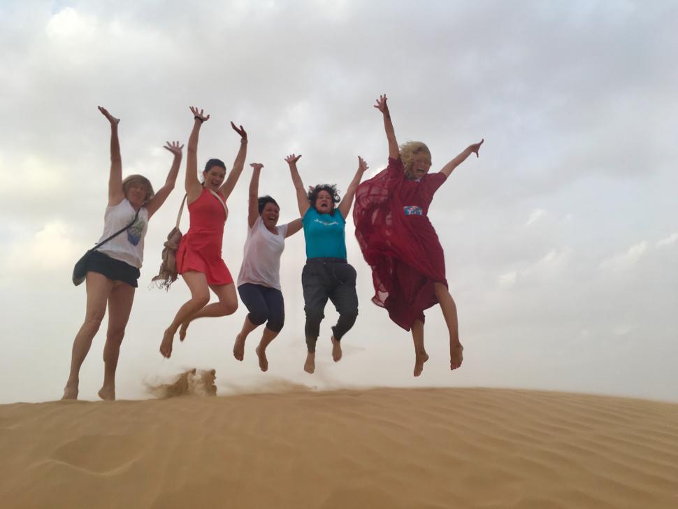 Jóga vtichosti pouště
