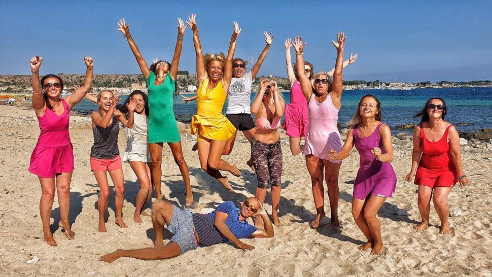 jóga,tanec, meditace-Yoga Life Happy Life