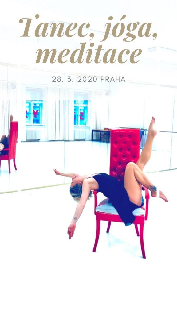 Tanec, jóga, meditace, 2020