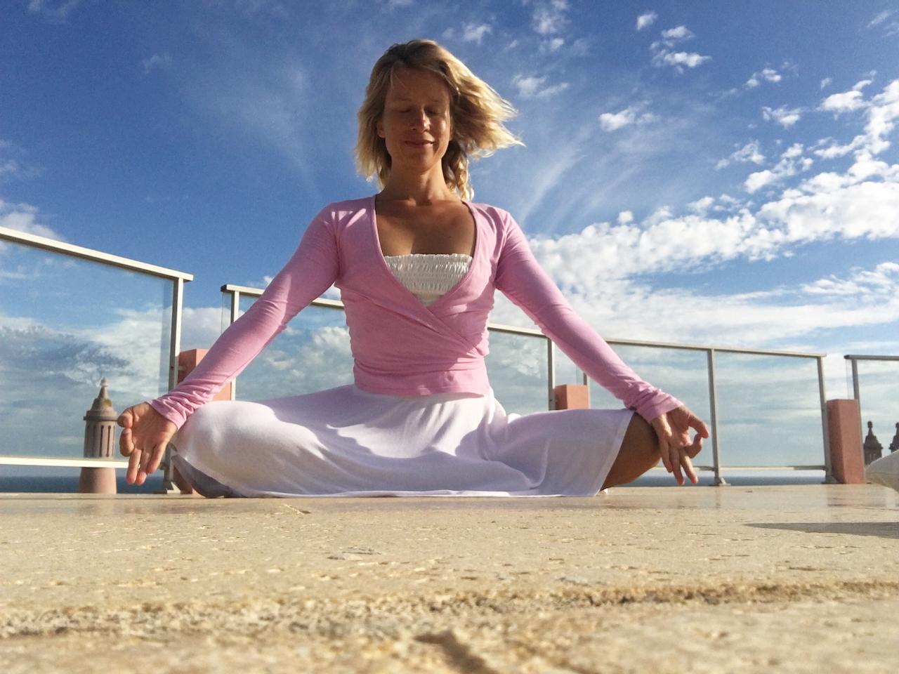 Meditace apránájáma: Judita Berkova